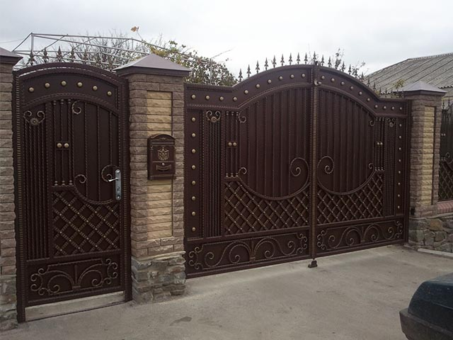 Ворота и калитки в Гомеле