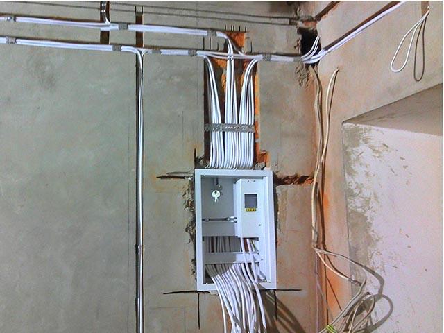 Монтаж электрики в Гомеле