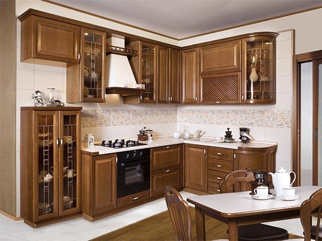 Кухни из массива фото в Гомеле