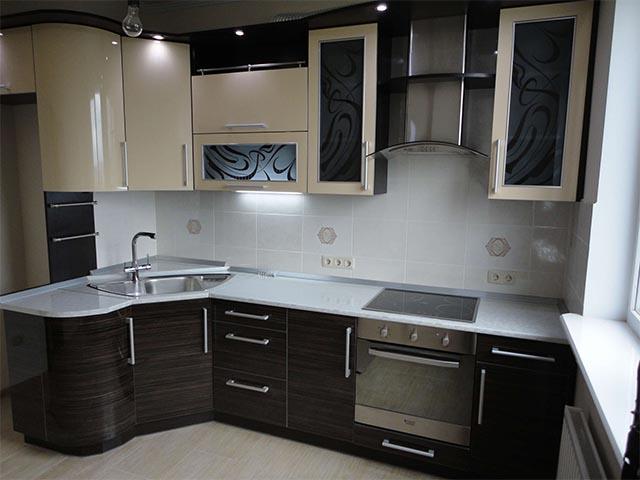 Пластиковые фасады для кухни