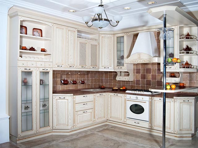 Угловые кухни под заказ фото цена
