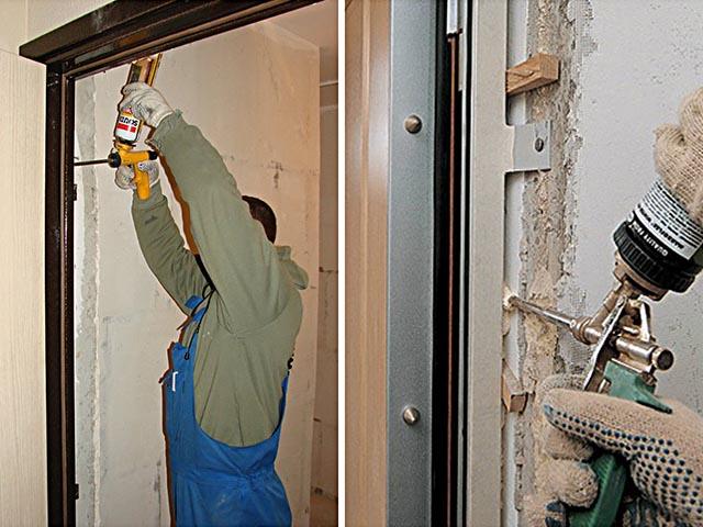 Установка входных и межкомнатных дверей в Гомеле