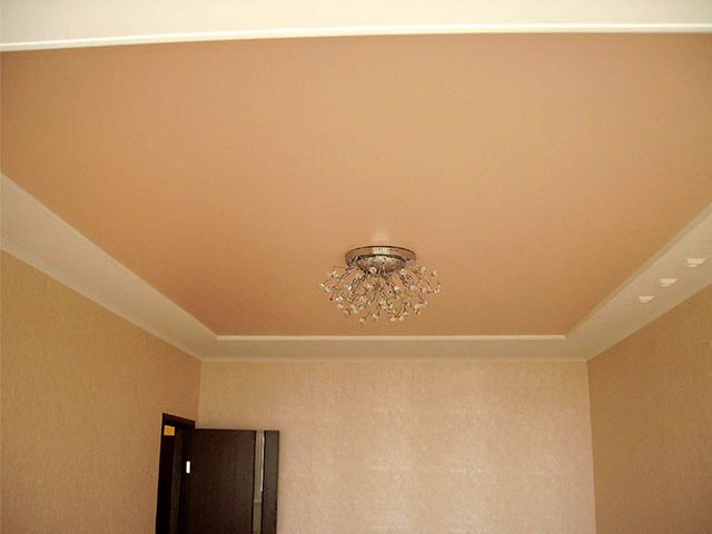 Матовый натяжной потолок в Гомеле